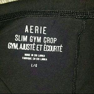 AERIE Slim Gym Crop just added